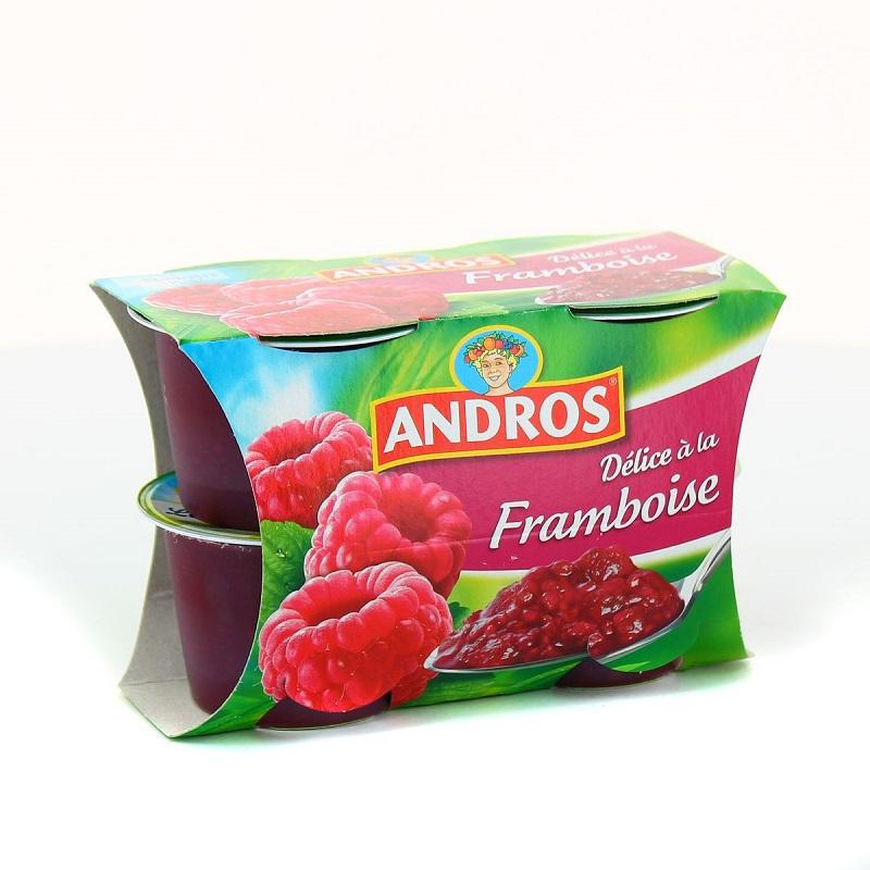 AVIS NUTRIFAZ SUR LES DESSERTS AUX FRUITS D'ANDROS