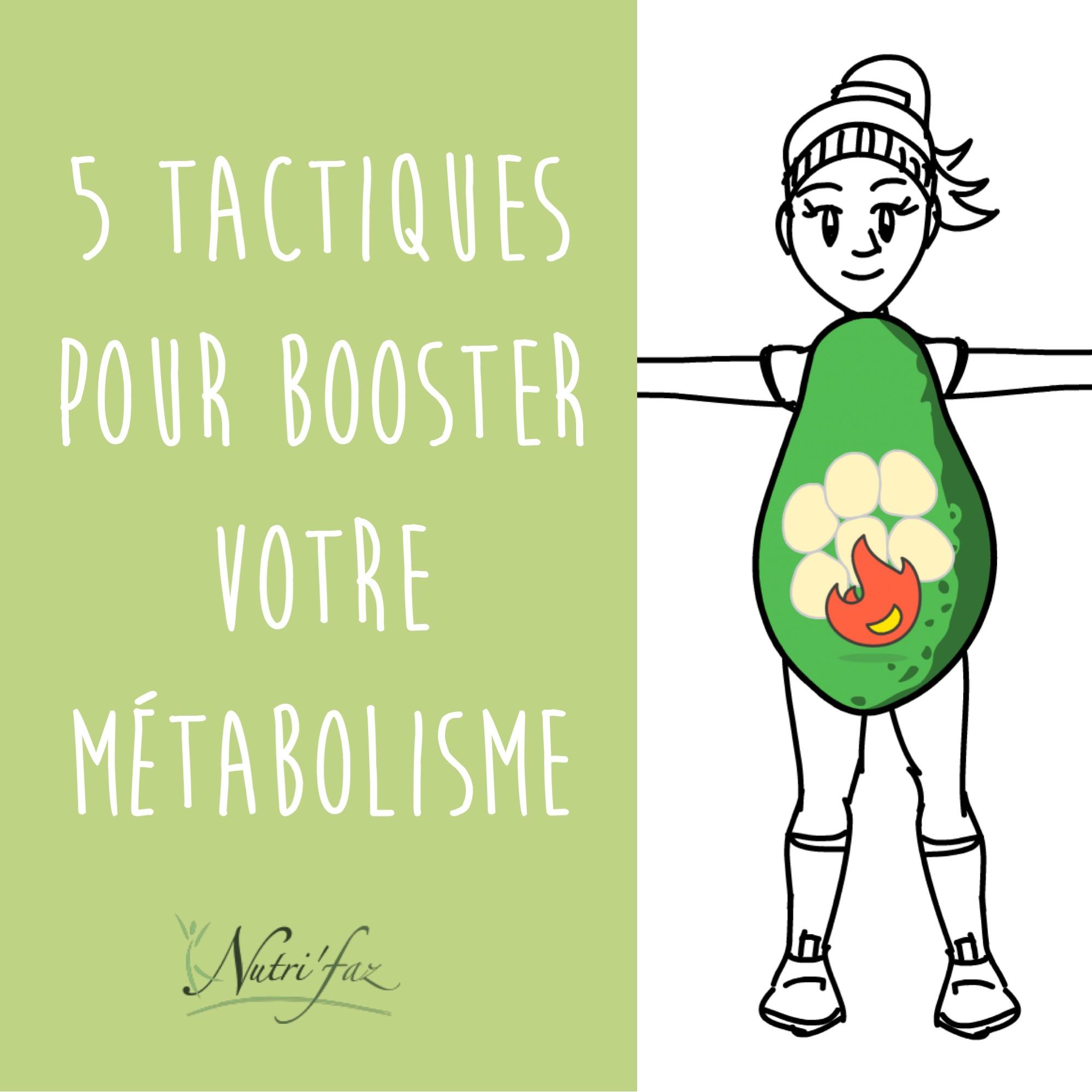 5 astuces pour booster son métabolisme