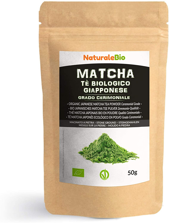 Thé vert Matcha Naturalbio qualité cérémonial